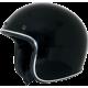 Casca Semiintegrala AFX  FX-76 Negru cu margine cromata marime XS