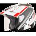 Casca Semiintegrala AFX  FX-50 Signal culoare alb/gri/rosu marime S