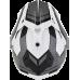 Casca Cross/ATV AFX FX-39 Veleta Dual Sport culoare negru/alb marime L