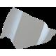 Viziera casca AFX FX-41 DS argintiu oglinda