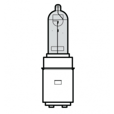 Bec far halogen 12V35/35W BA20D , lumina alba