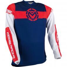 Tricou motocross Moose Racing Qualifier culoare Multicolor marime L