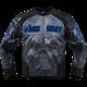 Jacheta moto Icon Overload Reaver culoare albastru marime 2XL