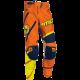 Pantaloni motocross copii Moose Racing M1 culoare portocaliu/galben/albastru marime 28