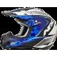 Casca Cross/ATV AFX FX-17  Factor culoare alb perlat albastru-inchis albastru-deschis marime M