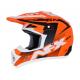 Casca Cross/ATV AFX FX-17  Holeshot  culoare portocaliu neon negru alb marime M
