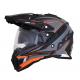 Casca Cross/ATV AFX FX-41 Eiger Dual Sport culoare gri mat portocaliu marime XL